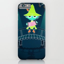 Snufkin, the moomins iPhone Case