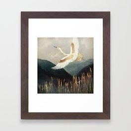 Elegant Flight Framed Art Print