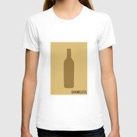shameless T-shirts featuring Shameless - Minimalist by Marisa Passos