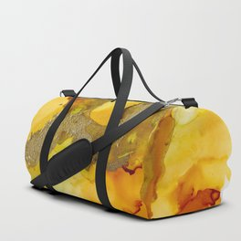 Gold Abstract 1 Duffle Bag