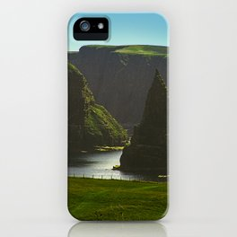 Sea Stacks at Duncansby Head iPhone Case