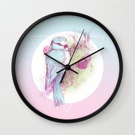 Sakura Bird Wall Clock