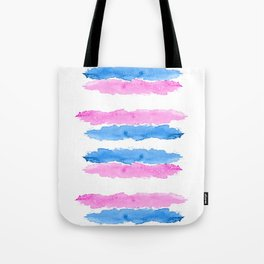 Trans Colors - Love Is Love Tote Bag