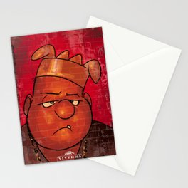 notorious sarge Stationery Cards