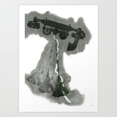 Wagners delusion Art Print
