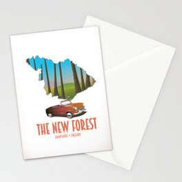The new forest Hampshire England Stationery Cards
