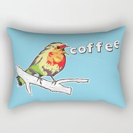 The Early Bird Catches the.... Rectangular Pillow