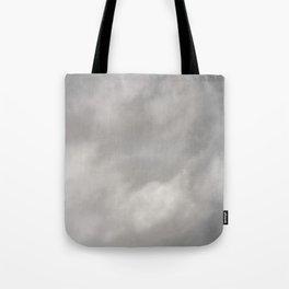 Gray Clouds Tote Bag