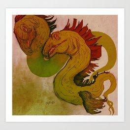 Debye-Huckel Art Print