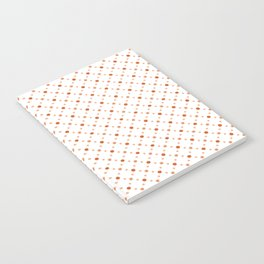 Criss Cross Dots Notebook
