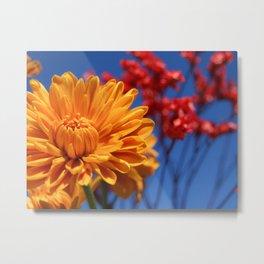 Bright, Vibrant, Happy Flowers Metal Print