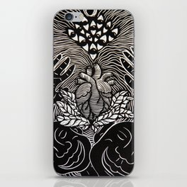Higher Frequency Vibration. iPhone Skin