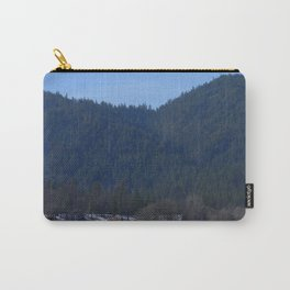 Beautiful wintry day in Hayfork, California.... Carry-All Pouch