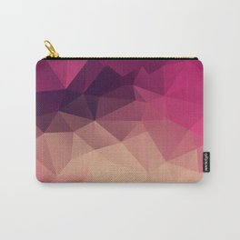 Polygon picture . Sunset. Carry-All Pouch
