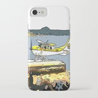 airplane iPhone & iPod Cases featuring Airplane by Cindys