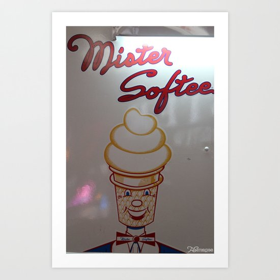 Mister Softee Art Print