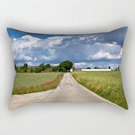 Summer Field Poetry Rectangular Pillow