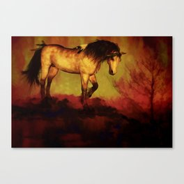 HORSE - Choctaw ridge Canvas Print