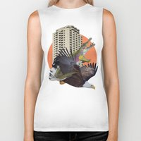 cage Biker Tanks featuring Cage home by Lerson