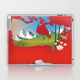 Canada illustrated travel poster. Laptop & iPad Skin
