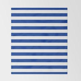 El Salvador honduras finland greece israel flag stripes Throw Blanket