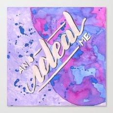 An Ideal Me Canvas Print