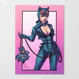 Catwoman - Gotham Girls #1 Canvas Print