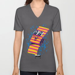 DOUBLE FLAVOURED CHEWINGUM FROM OUTER SPACE Unisex V-Neck