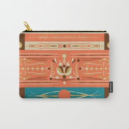 Filetagem Traditional Brazillian Truck Art Carry-All Pouch