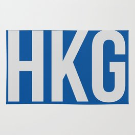 HKG Hog Kong Luggage Tag 1 Rug