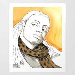 LILWAYNE Art Print