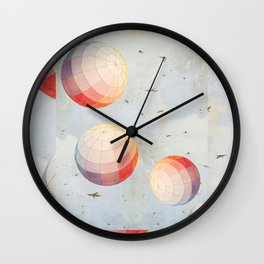 I found you falling from the sky Wall Clock