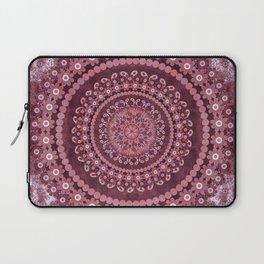 Boho Rosewood Mandala Laptop Sleeve