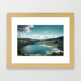 Lough Tay, The Guinness Lake Framed Art Print
