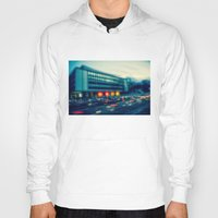 rush Hoodies featuring Rush Hour  by hannes cmarits (hannes61)