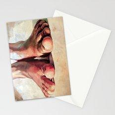 Pensando con los pies Stationery Cards