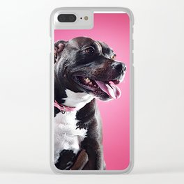 Super Pets Series 1 - Super Lucy Clear iPhone Case