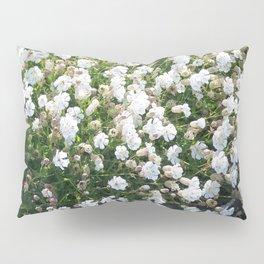 Overwhelming White Pillow Sham