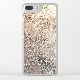 Sparkling GOLD Lady Glitter #1 #decor #art #society6 Clear iPhone Case