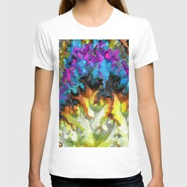 Progression. Abstract Art by Tito T-shirt