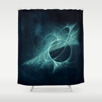 portal Shower Curtains featuring Portal by MG-Studio