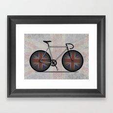 British Cycling is Brilliant Framed Art Print