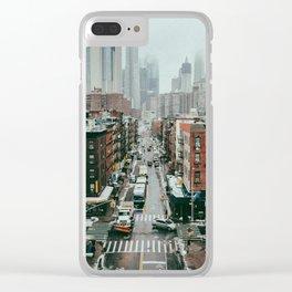NYC II Clear iPhone Case