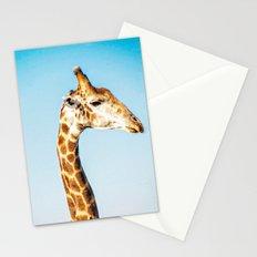 Portrait of a Giraffe Stationery Cards