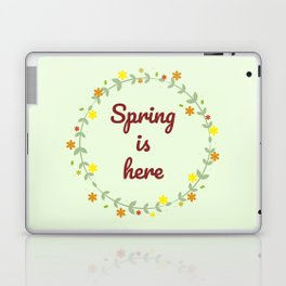 The Arrival of Spring I Laptop & iPad Skin