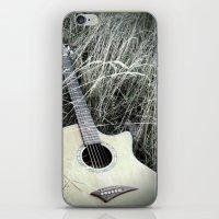 guitar iPhone & iPod Skins featuring Guitar by IrishSaint06