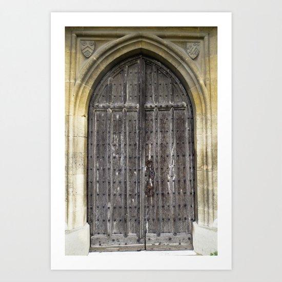 The Church Door Art Print