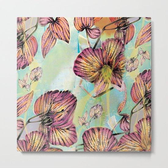 Exotic Flowers 3  Metal Print