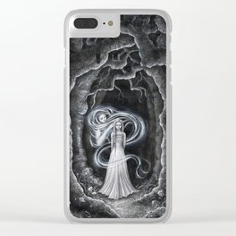 You still haunt my mind Clear iPhone Case