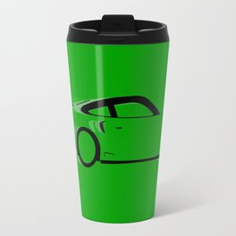 Fast Green Car Travel Mug